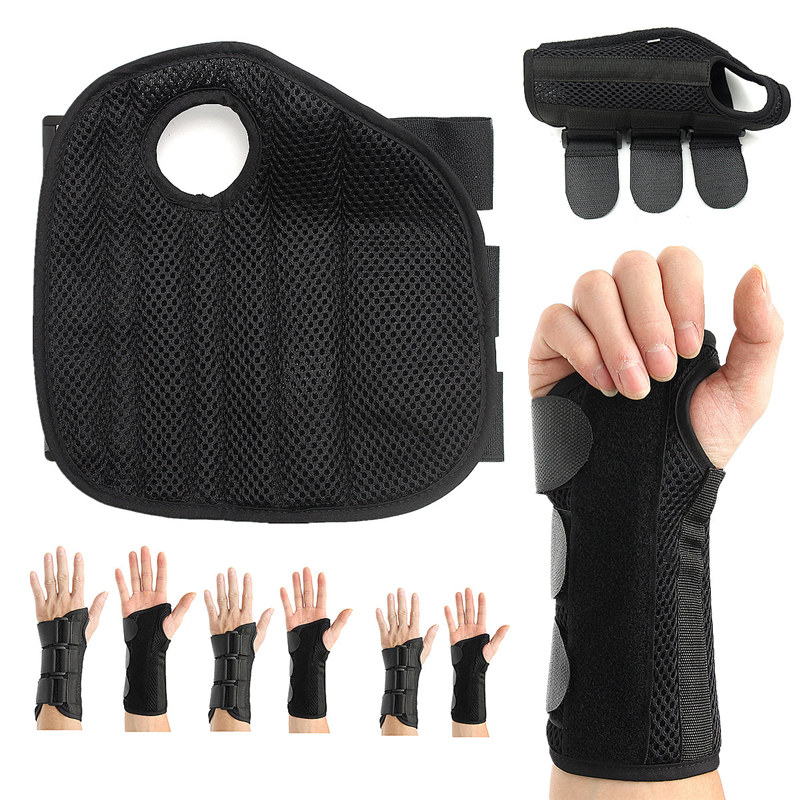 Top Quality Breathable Mesh Splint Sprains Arthritis Bracer Belt Carpal Tunnel Hand Wrist Support Brace Useful Bandage Wrist