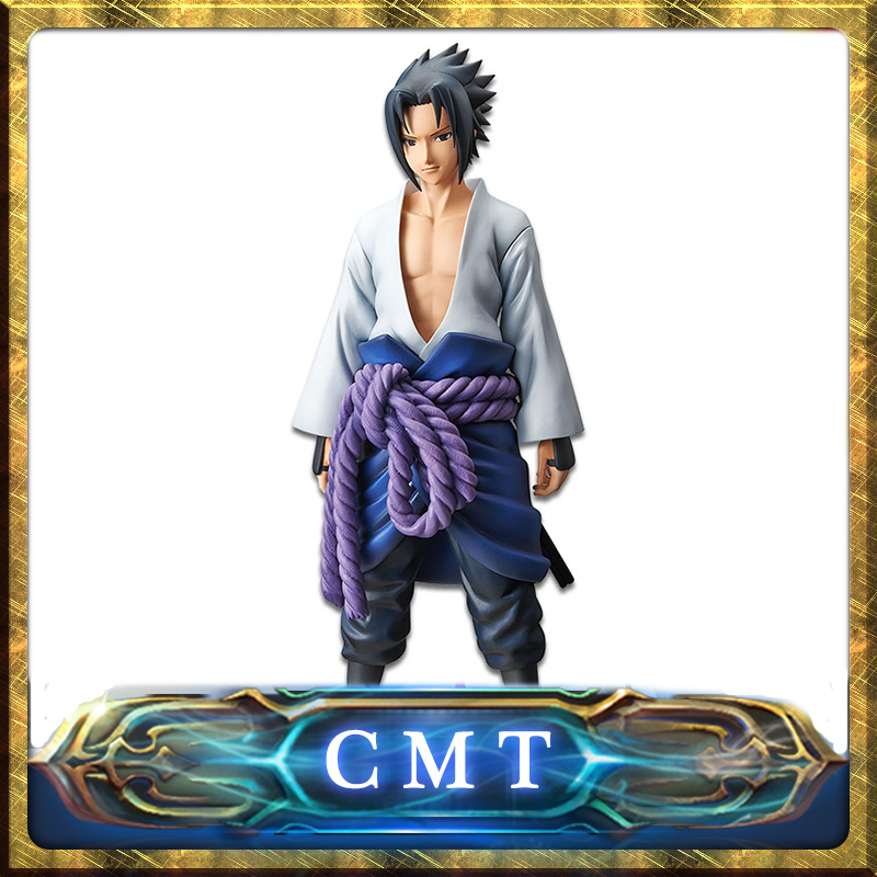 CMT In Stock Origianl BANPRESTO Naruto SHIPPUDEN Grandista Shinobi Relations UCHIHA SASUKE Anime PVC Toys Figure все цены