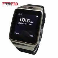 Reloj inteligente Bluetooth con grabadora de vídeo FM radio whatsapp reloj inteligente F128 reloj inteligente Android hombres Relojes Smartwear