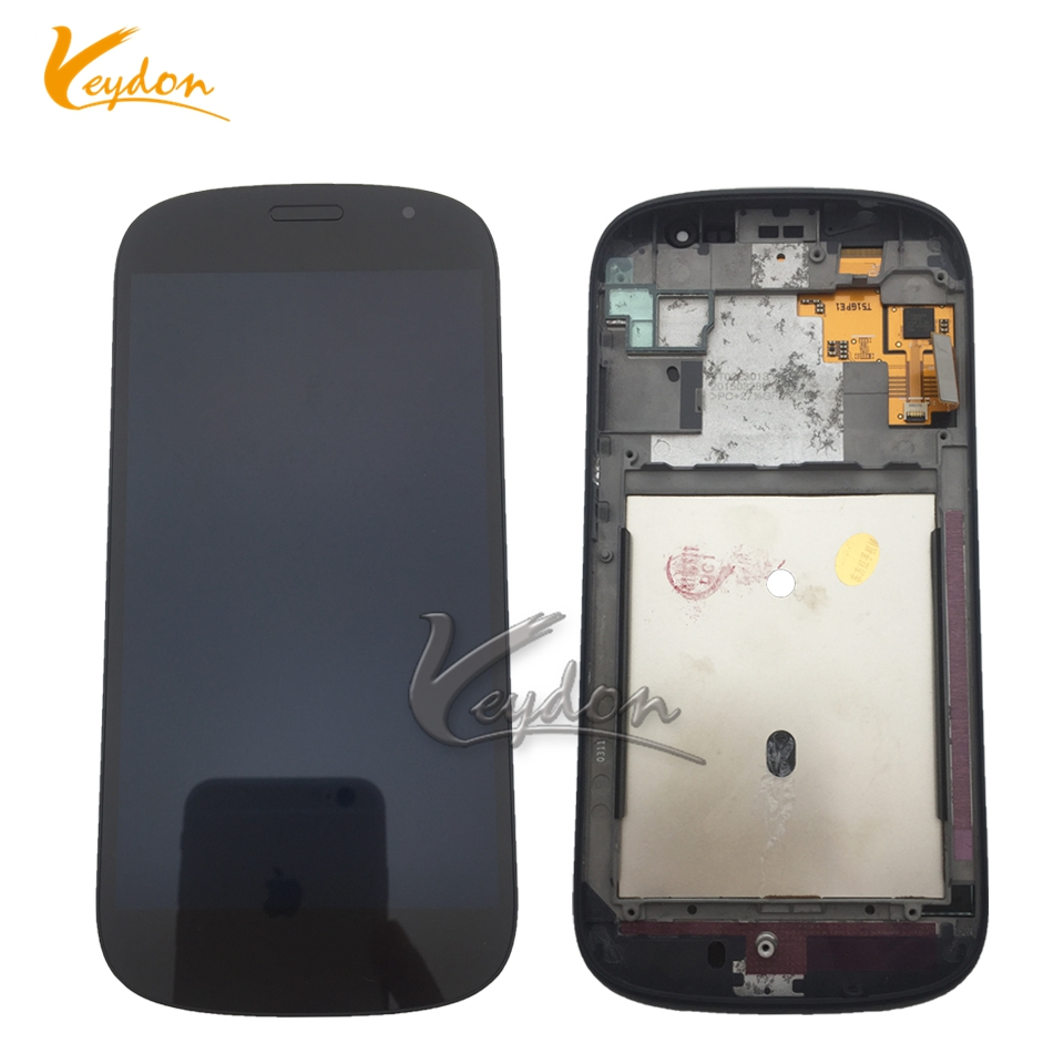 In Stock Black Front LCD For Yotaphone 2 YD201 YD206 LCD Display Digitizer + Touch Screen Assemblely With Frame Smart Phone