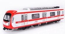 Литые модели поезд метро динамической модели автомобиль легкая музыка введите автомобиль игрушечный автомобиль
