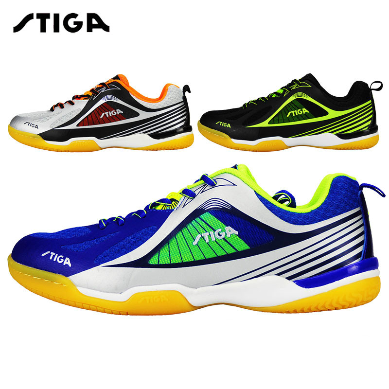Original Stiga table tennis shoes new style unisex sneakers for table tennis racket game ping pong