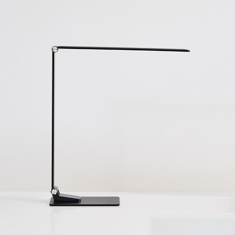Ultra-thin Eye Protect LED Table Lamp Study Desk Lamp LCD display Light office 3 mode Dimmable Foldable USB Touch Switch led student desk lamp 3 stage dimmable with touch switch brush pot design foldable and adjustable table lamp arm design