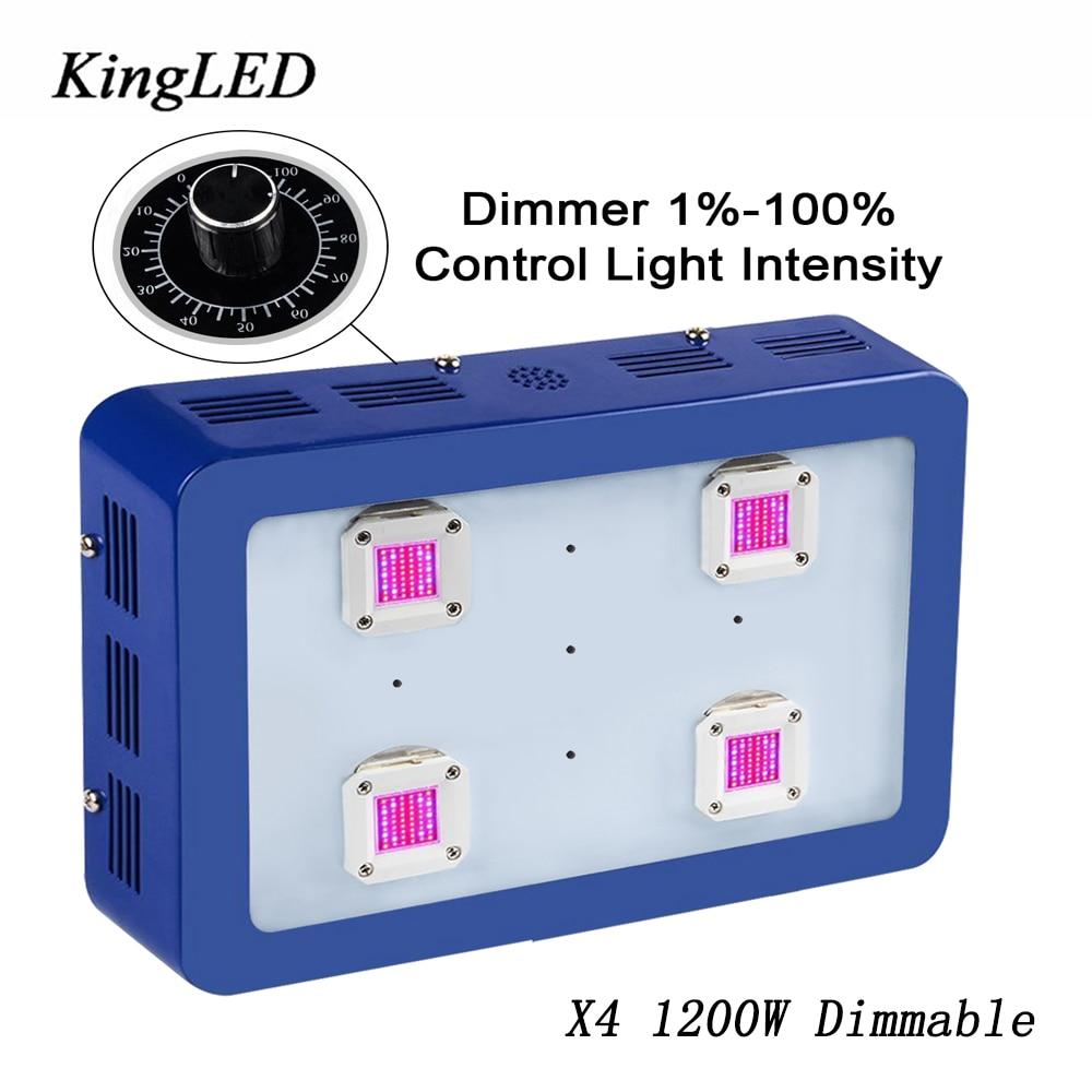 2017 Baru Dimmable X4 1200 W Spektrum Penuh DIPIMPIN Tumbuh Cahaya LED  Tumbuh Cahaya untuk Tanaman hidroponik Dalam Ruangan Tumbuh Berbunga Tinggi  hasil 7d9ef09a40