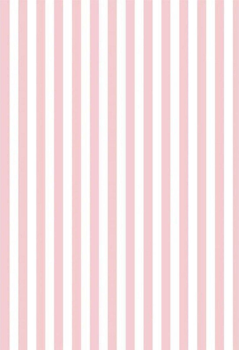 Rosa Rosso E Bianco A Righe Fondali In Vinile Tessuto Di Alta