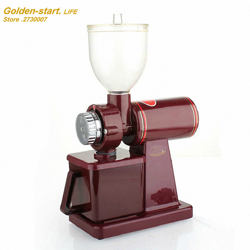 NEW coming 2 colors 220V coffee grinder machine coffee mill with plug adapter Seasoning Grinder