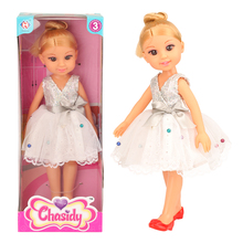 2019 Newest 12 Inch Mini Baby Doll Chinese Real Cute Toy With High Quality Dress Shoes Best Birthday Gift Box For Girl