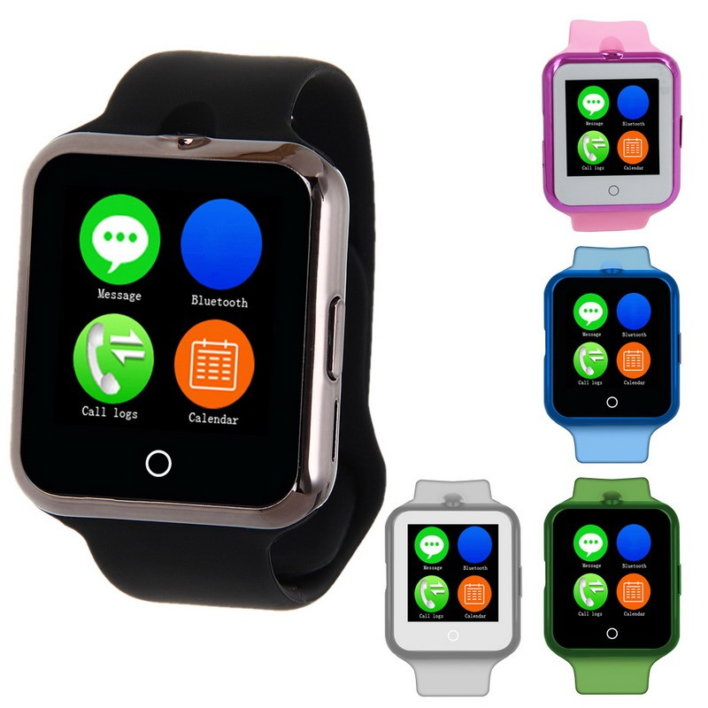 Smart Watch Phone Gorgeous Marquee Lamp SIM TF Card Bluetooth Wearable Devices font b SmartWatch b