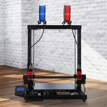 Shortly Assembled 3D Printer Equipment with 400x400x500mm Printing Measurement