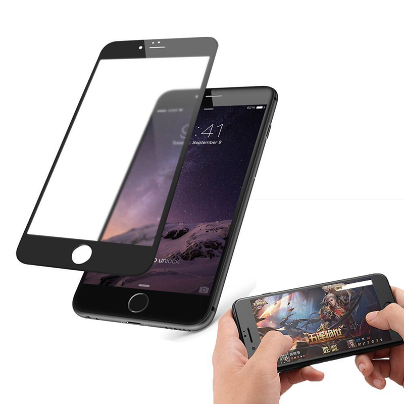 Suntaiho AG Frosted Anti Blue Light Tempered Glass for iPhone 8 plus Matte Anti-Fingerprints Screen Protector for iPhone 6s 7