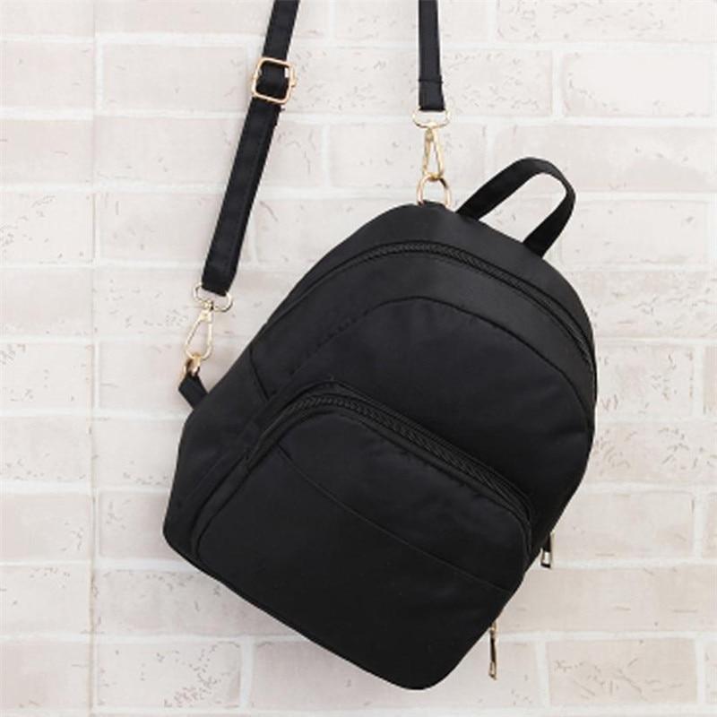 Women Backpack Waterproof Backpacks Out-side Solid Schoolbags Backpack Women Travel School bags for girls Shoulder Bag backpack women leather backpacks schoolbags travel shoulder bag best gift drop ship may16 3
