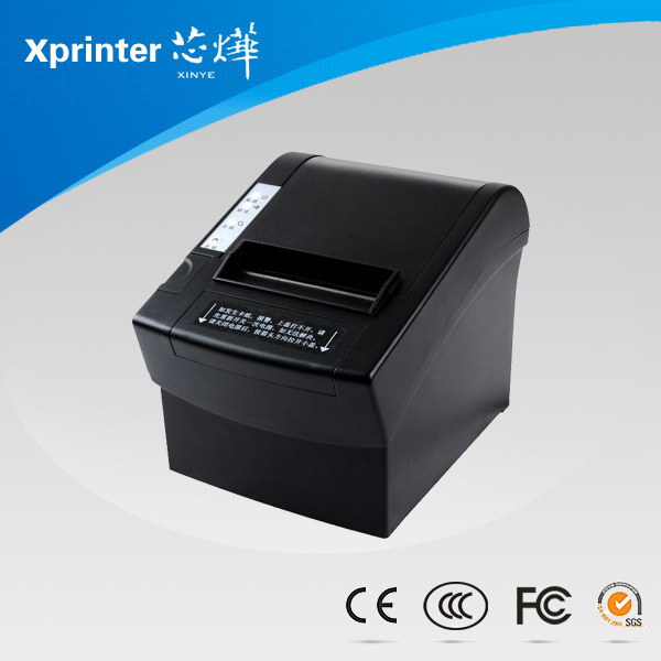 XP-C2008 термопринтер pos58mm Параллельный + USB/Серийный + USB + Lan/Wi-Fi + USB/Bluetoo интерфейс тепловая чековый принтер мини/поп-принтера