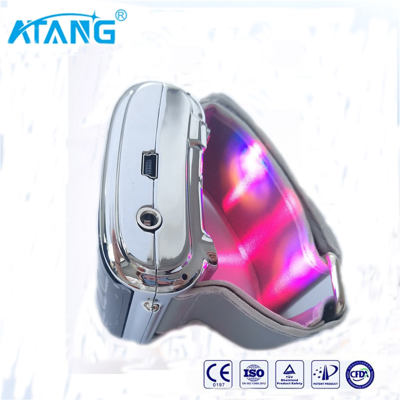 ATANG 2018 New Medical LLLT Wrist Laser Watch Varicose Veins Low Lever Laser Therapy Device Hypertension Coronary Heart Disease coronary heart disease atherosclerosis model coronary thrombosis model