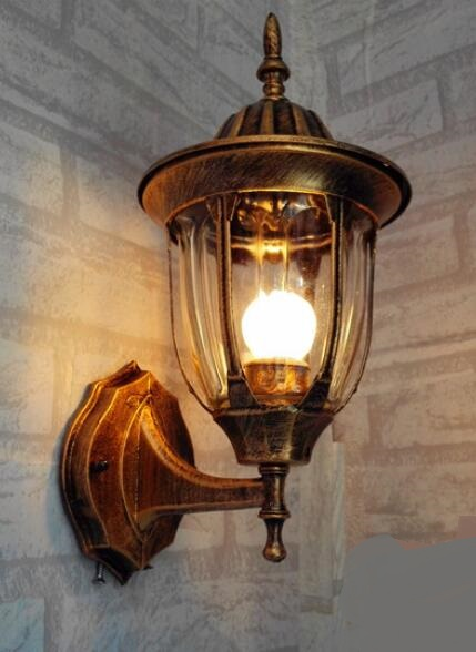 цена на simple European style Wall Lamps retro corridor lamp balcony wall lamp LED outdoor waterproof exterior wall lamp LU627 ZL461