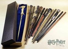Harry Potter Wand Illuminating Magical Wand Glowing, 35CM Harry Potter Magical Wand one Sets 13pcs.(China (Mainland))