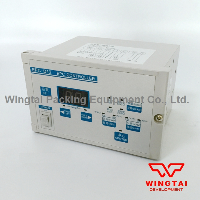 Servo Photoelectric Deviation Rectification Controller / Automatic Web Guiding Microcomputer Correction Controller EPC-D12