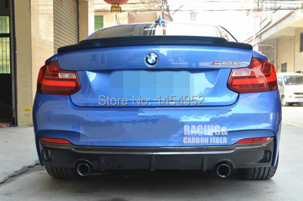 EXOTICS Стиль углеродного волокна задний диффузор для BMWF22 M235i 2 серии красивый аксессуар