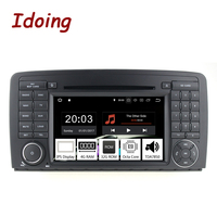 Idoing 72Din Andriod 8.0 Car Radio GPS DVD Multimedia Player For Mercedes Benz W215/W220 PX5 4G+32G 8Core IPS Screen Navigation