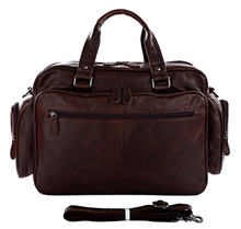Viborg Genuine Leather Duffle Bag