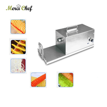 Merci chef ITOP Electric Potato Twister Tornado Slicer Machine Automatic Cutter Spiral 110/220v  цена и фото