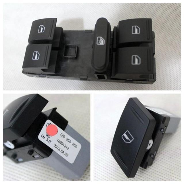 Para Volkswagen Skoda octavia Superb sistema de interruptor levantador janela interruptor levantador de vidro interruptor principal