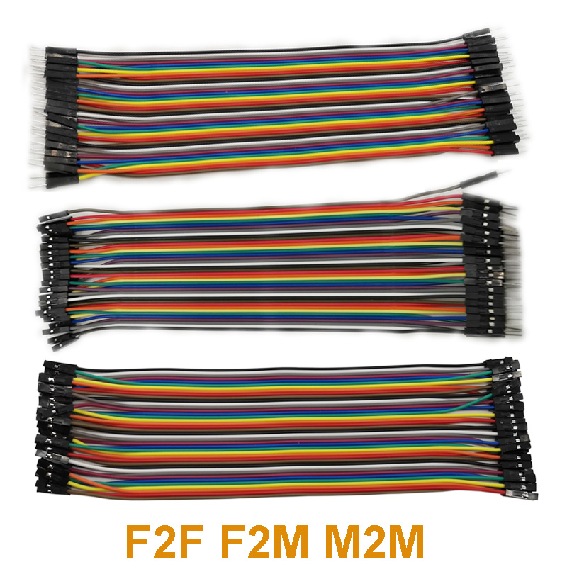 1/set 20cm 120P Dupont Cable Female to Female Female to Male Male to Female Jumper Wire For Arduino