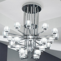 De Majo Otto X Otto Contemporary Glass Ceiling Lights Fashion Lighting Fixture For Dining Room Restaurant