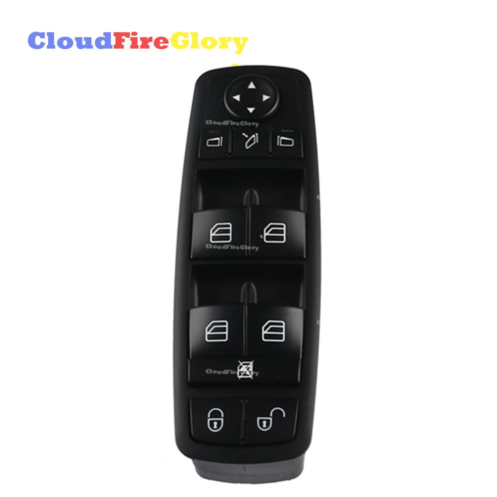 For MERCEDES-Benz A/B-Class W169 2004-2012 W245 2005-2011 car Front Left Electric Power Master Window Switch <font><b>1698206710</b></font> image