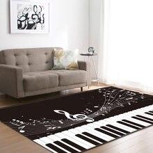 Kreative klavier muster 3D Druck Teppich wohnzimmer tisch teppich teppich Anti - Slip Bad große Teppich Absorbieren Wasser