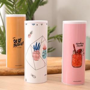 Image 5 - 새로운 kawaii 연필 케이스 거울 계산기와 더블 레이어 펜 상자 학교 용품에 대한 화이트 보드 펜 와이퍼 화장품 케이스 etui