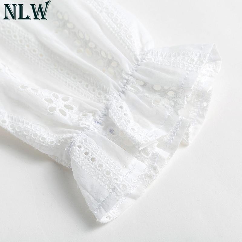 Sweet Lolita White Cotton Lace Dress 4