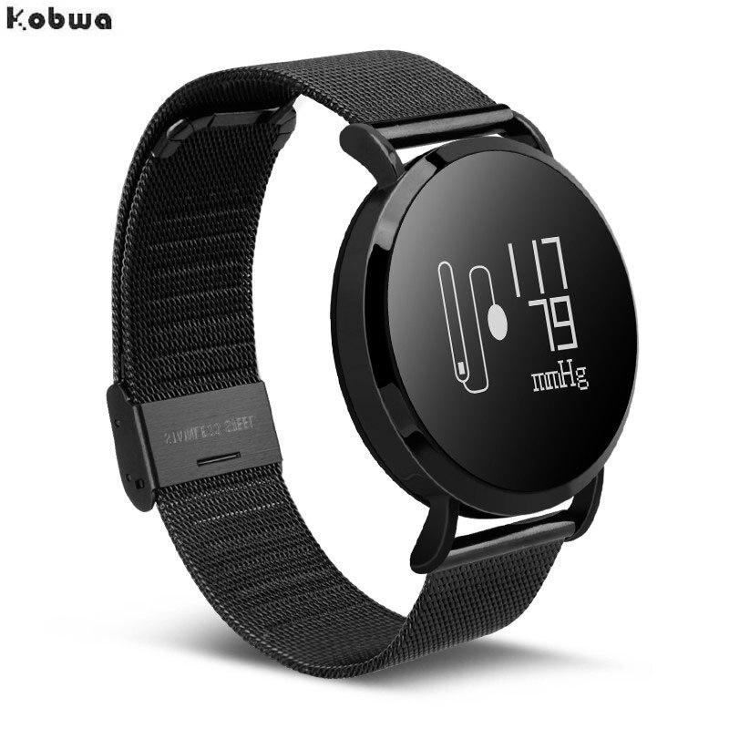 CV08 Smart Bracelet Watch Fashion Bluetooth Sports Pedometer Blood Pressure Heart Rate Monitor Pulsera Inteligente Pulsometro