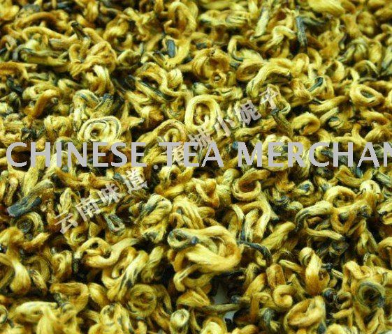 FREE SHIPPING  50 grams Super DianGong gold lumps yunnan black tea the highest rating