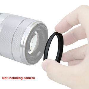 Image 4 - Just Now 40.5 43 46 49 52 55 58 62 67 Step Up Ring Filter Adapter for Camera Lens for Camera Filter(Over 100 Models to Choose)