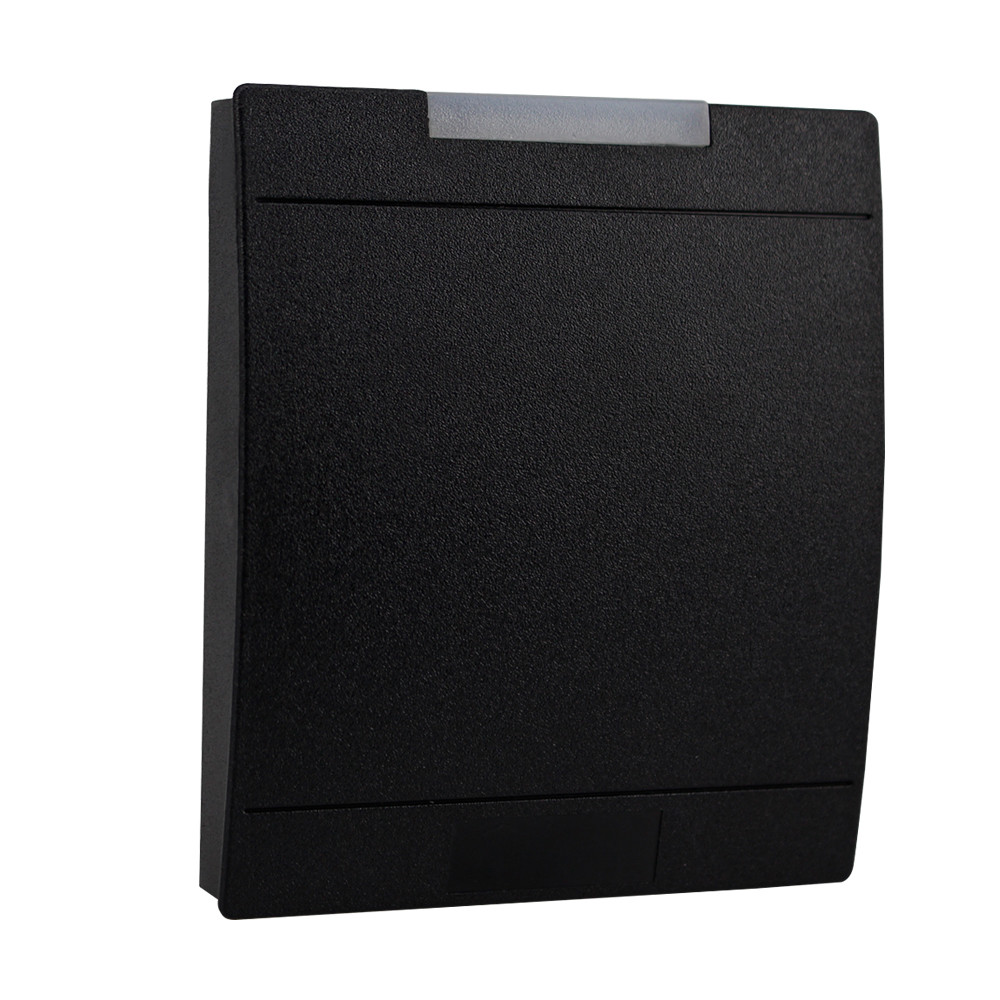 Waterproof RFID 13.56MHz card reader for access control system proximity reader IC smart mifare 1k card reader WG26/34 card reader waterproof access control system for rfid wg26 34 interface economic for home f1684a