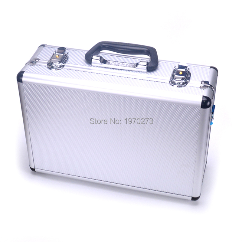 High Quality Universal Transmitter Case Aluminum Box for S pektrum WFLY KDS ESKY Walkera Flysky Remote