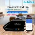 Rm pro rm2 broadlink casa inteligente controlador inteligente universal ir + rf + wifi inalámbrico interruptor de control remoto a través de ios android