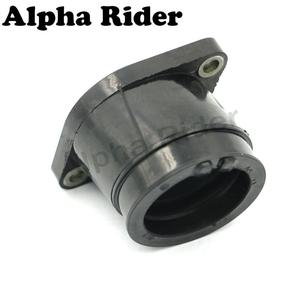 Motorcycle Carburetor Manifold Interface Carburetter Intake Pipe Adapters Insulator Connector Glue for Yamaha TTR 250 TTR250 4GY(China)