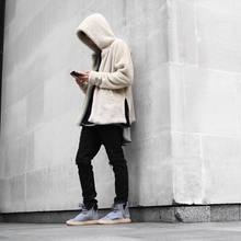 Sherpa Hoodie Streetwear Kanye West Clothing Fashion Hip Hop Skateboard Urban Clothes Swag Men Hoodies Hooded Cardigan