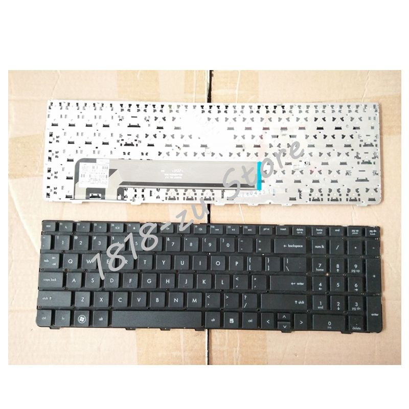 YALUZU New English Keyboard for HP ProBook 4530S 4535S 4730S 4735S Series US Black Keyboard without Frame Laptop Keyboard laptop keyboard for lg 15n540 sn5840 sg 59030 40a sn5840 sg 59030 xra black without frame korea kr br brazil