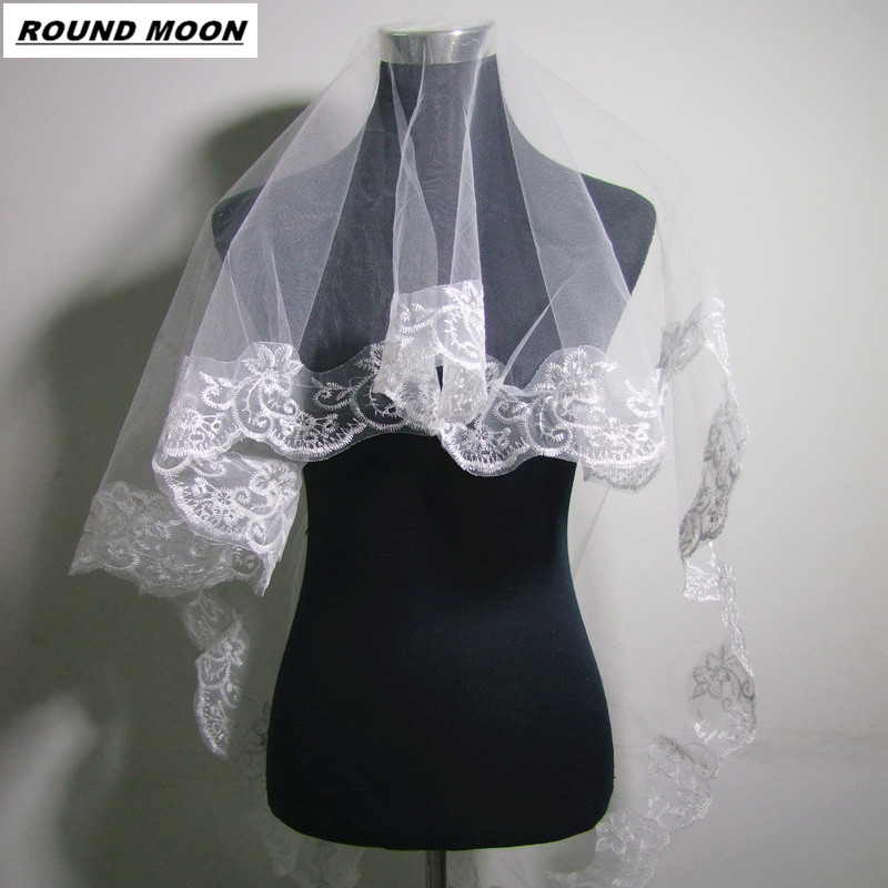 The Bride Hair Accessory Bridal Veil Meters Veil 1.5 Meters Long Veil Lace Decoration Veil