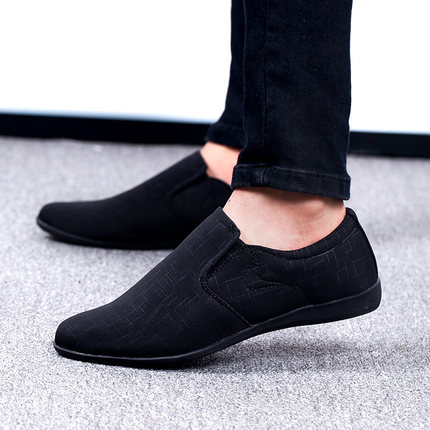 ef546a9e4a67 2019 New Men Shoes High Quality Canvas Men Casual Shoes Fashion Summer Mens  Loafers Slip-