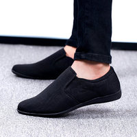 2019 New Men Shoes High Quality Canvas Men Casual Shoes Fashion Summer Mens Loafers Slip On Men's Flat Shoes Zapatillas Hombre
