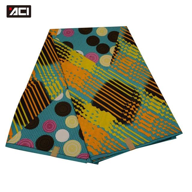 ACI Free Shipping ! Best Selling Ankara African Wax Print Fabric,Dutch Wax Fabric African Real Wax Prints Fabric Hollandais Wax 4
