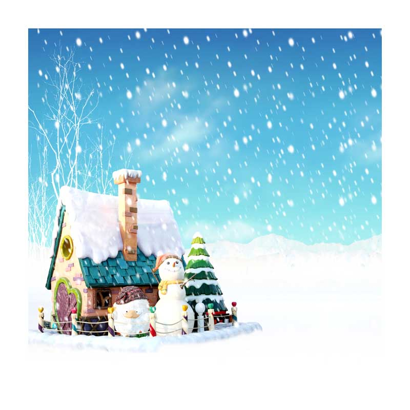 10x10ft free shipping Christmas backdrops Customized computer Printed vinyl photography background  for photo studio st-517 7x5ft christmas style wallpaper children baby photography backdrops vinyl background for photo studio christmas backdrops st 750