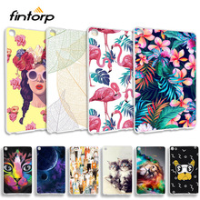 Fashion Painted Case For Samsung Galaxy Tab A 8 2019 SM-P200 SM-P205 with S Pen 8.0 inch Cases Soft TPU Back Tablet Cover Capa