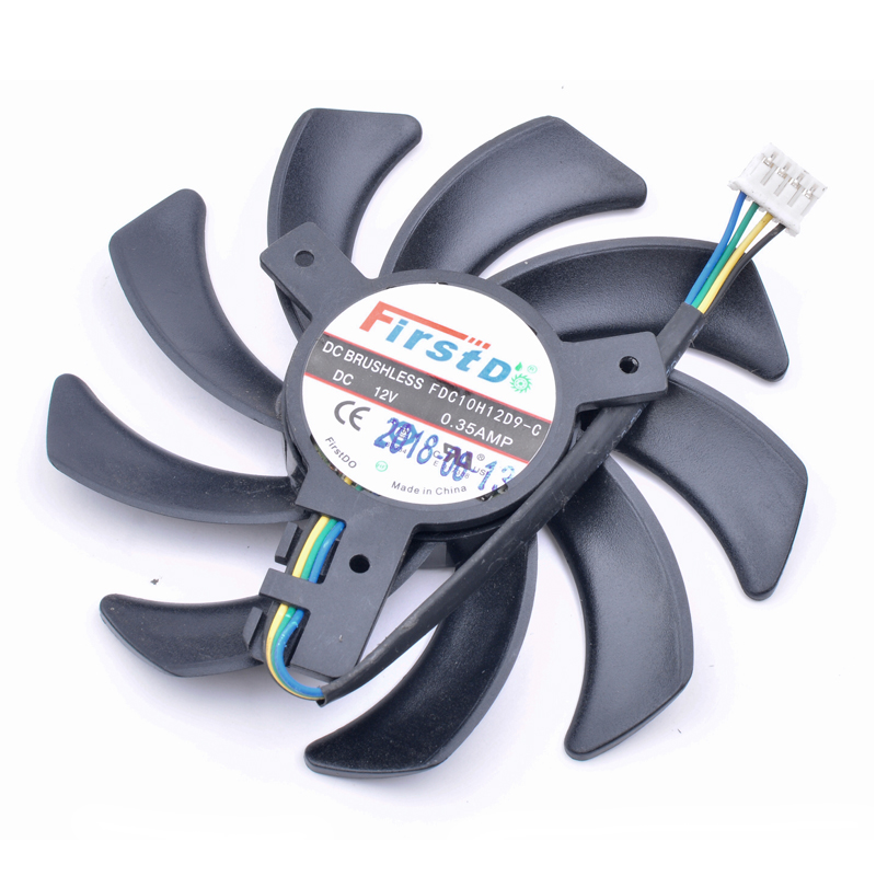 Brand new original Firstd FDC10H12D9-C 12V 0.35A sapphire Radeon R9 Nano graphics card fan image