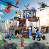 Lepin 02097 City Series The Mountain Police Headquater Set LegoINGlys 60174 Building Blocks Bricks Toys Model