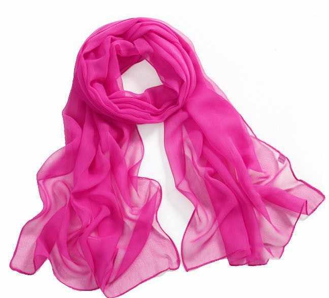 2018 été solide foulard en soie femmes foulards en mousseline de soie crème solaire paréo plage châle femme de luxe marque écharpe