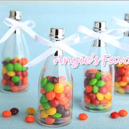 Best Sellermini Champagne Bottle Candy Containerwedding Favor Box
